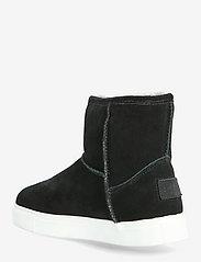 Axelda for Feet - Basel - flade ankelstøvler - black/white - 2