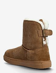 Axelda for Feet - Florens - flade ankelstøvler - chestnut - 2