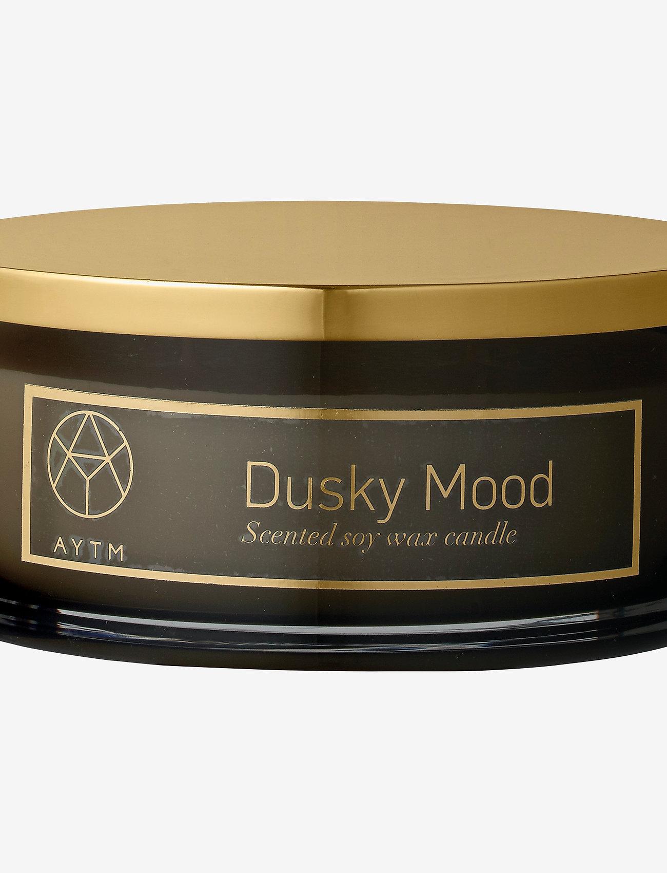 AYTM - Scented candle - doft - black, dusky mood - 0