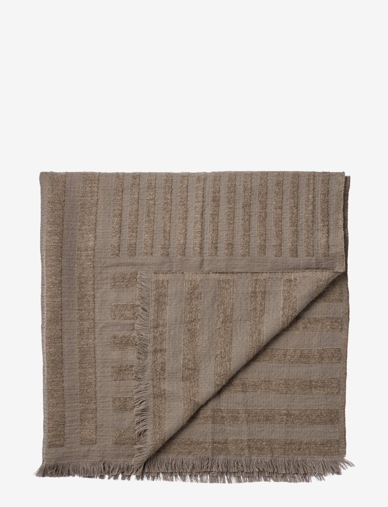 AYTM - CONTRA throw - blankets - taupe - 0