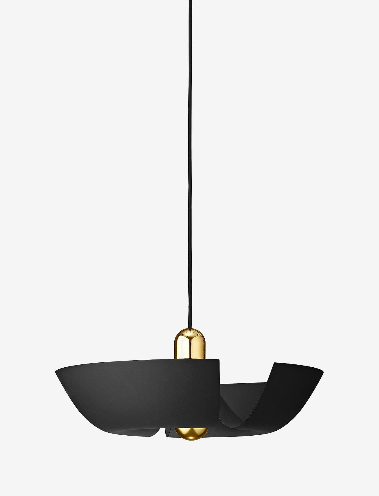 AYTM - CYCNUS Pendant - pendler - black/gold - 0