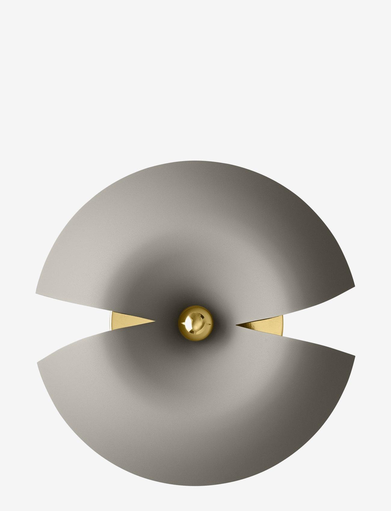 AYTM - CYCNUS wall lamp - vegglamper - taupe/gold - 0