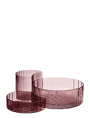 CONCHA bowls, set/3 - ROSE