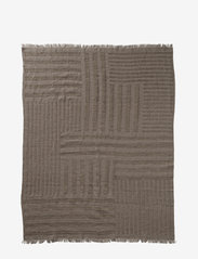 AYTM - CONTRA throw - blankets - taupe - 1