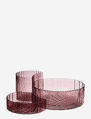 AYTM - CONCHA bowls, set/3 - koristelautaset - rose - 0