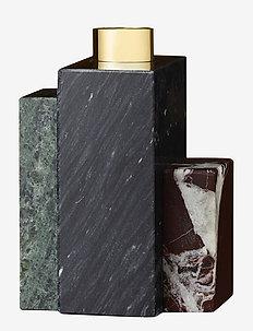 FRUSTUM candle holder - ljusstakar & ljushållare - bla/forest/bordeaux
