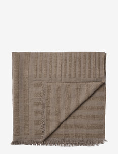 CONTRA throw - blankets - taupe