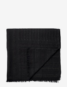 CONTRA throw - tepper - black