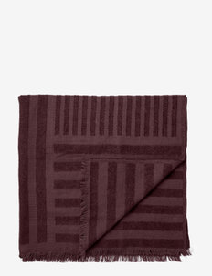 CONTRA throw - blankets - bordeaux