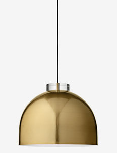 LUCEO Round lamp - pendler - gold/clear