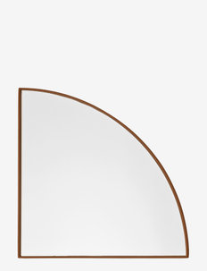 UNITY mirror 1/4 circle - seinäpeilit - amber
