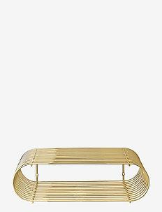 CURVA shelf - hyller & oppbevaring - gold