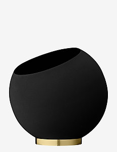 GLOBE flower pot - interiør - black