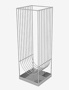 CURVA umbrella stand - silver