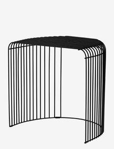 CURVA table - bord - black