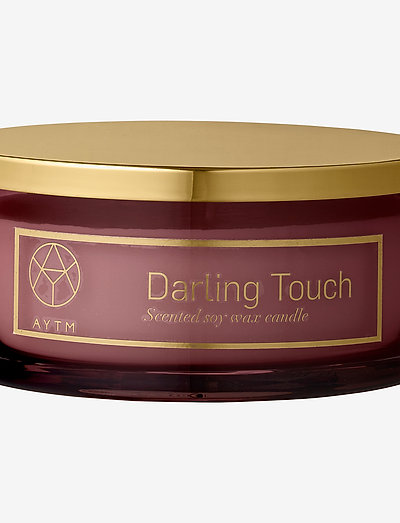 Scented candle - dufte - rose, darling touch