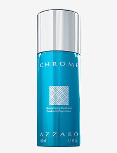 CHROME DEODORANT SPRAY - NO COLOR