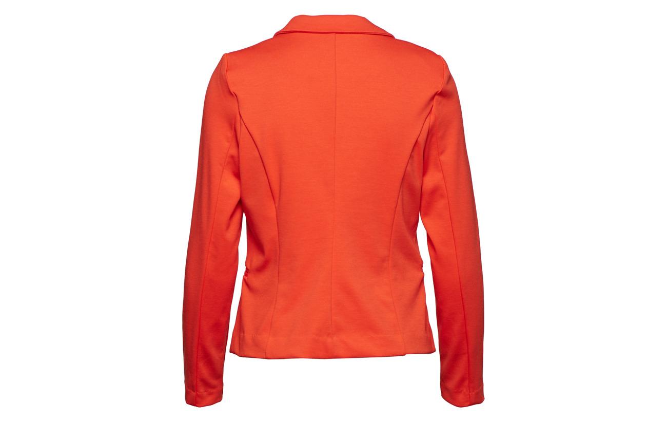 Rizetta 73 Elastane Spicy B Red Viscose Blazer Polyester young 23 4 HqxX5