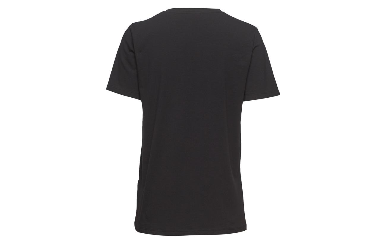 Coton Elastane 95 Black B 5 Rhinestone organic young Pandina Tshirt xqXYzZ