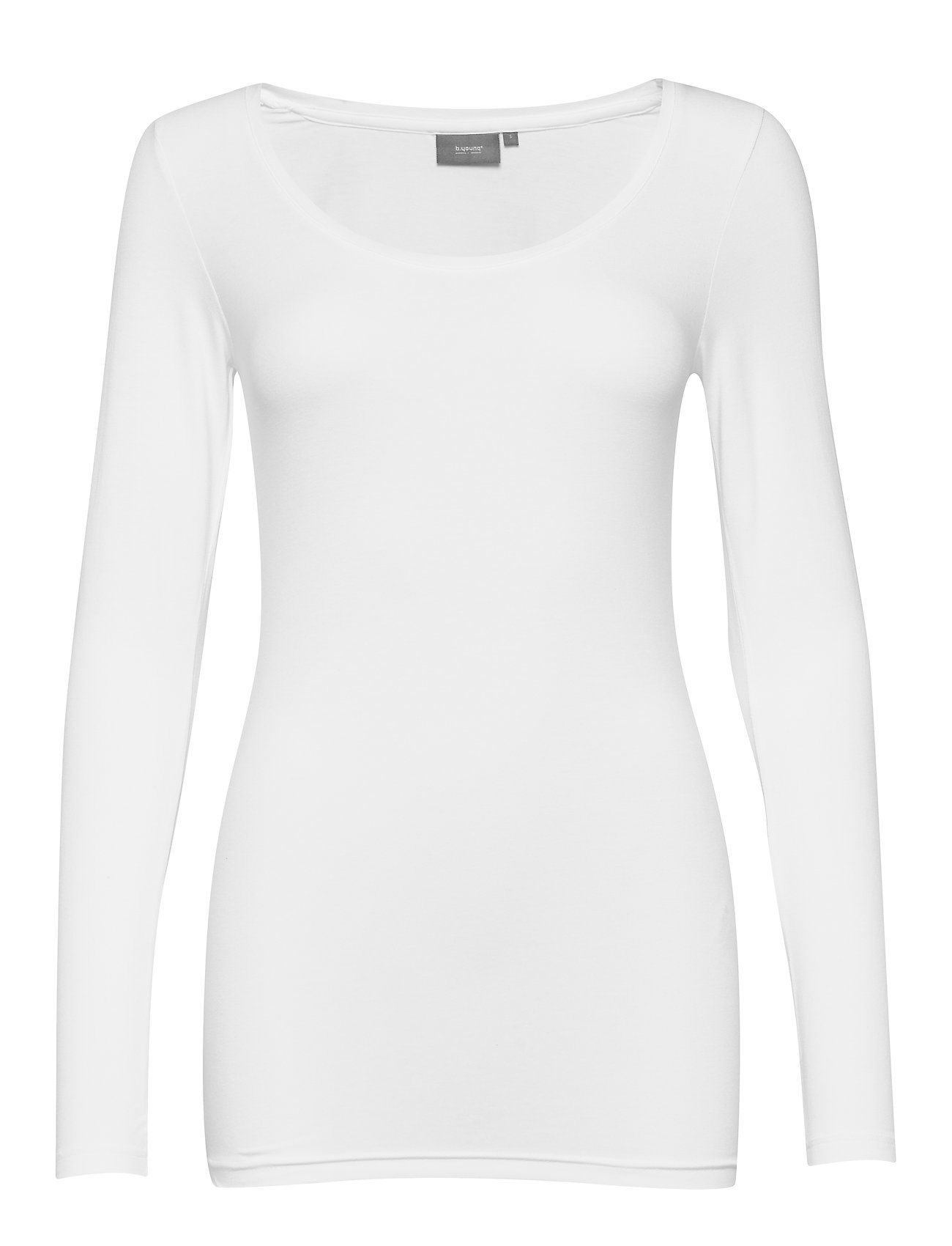 b.young Pamila long sleeve - Jersey - OPTICAL WHITE