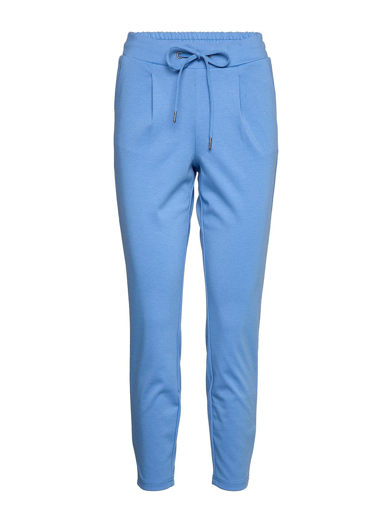 b.young Rizetta crop pants - - REGATTA BLUE