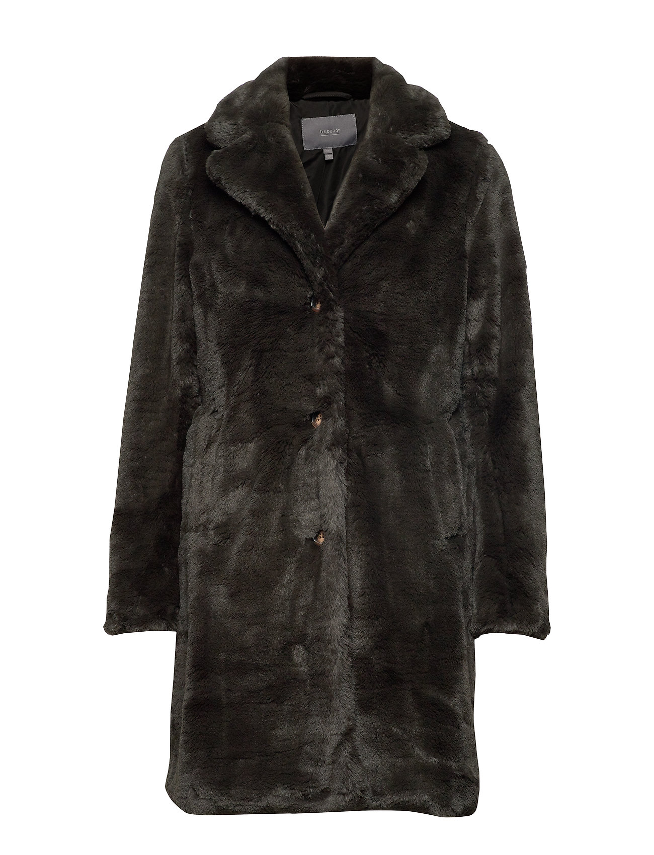 b.young BYCOSMO COAT - - PEAT GREEN