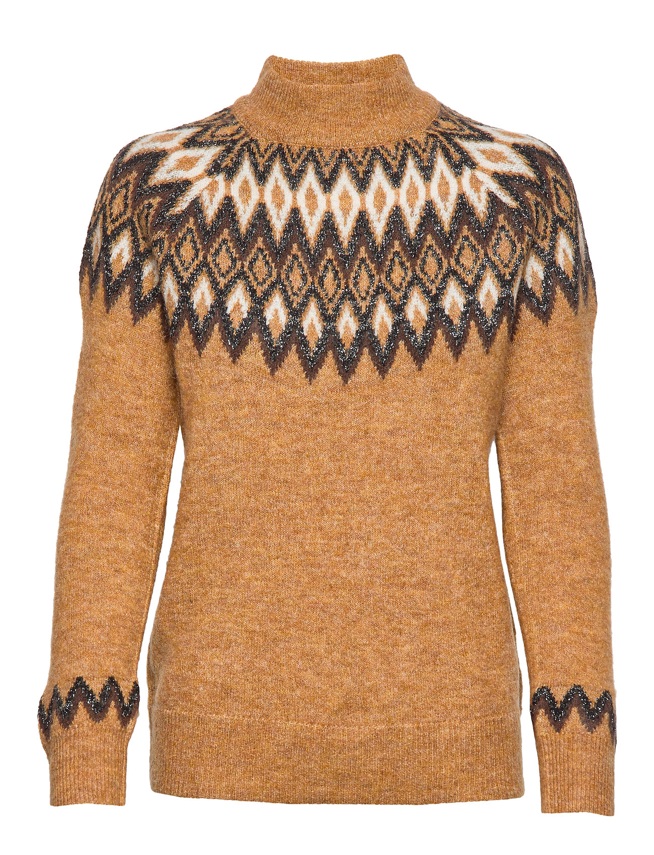 b.young BYMIXO JUMPER - ALMOND COMBI