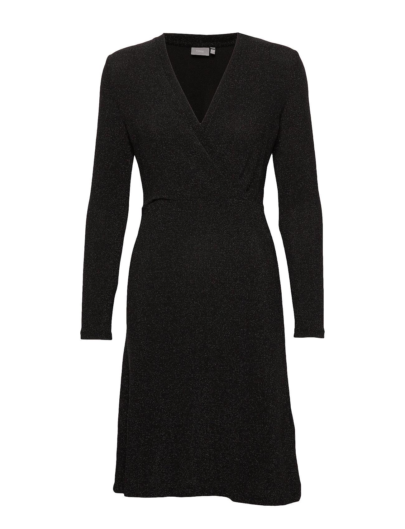b.young BYSELBY DRESS - - BLACK GLITTER
