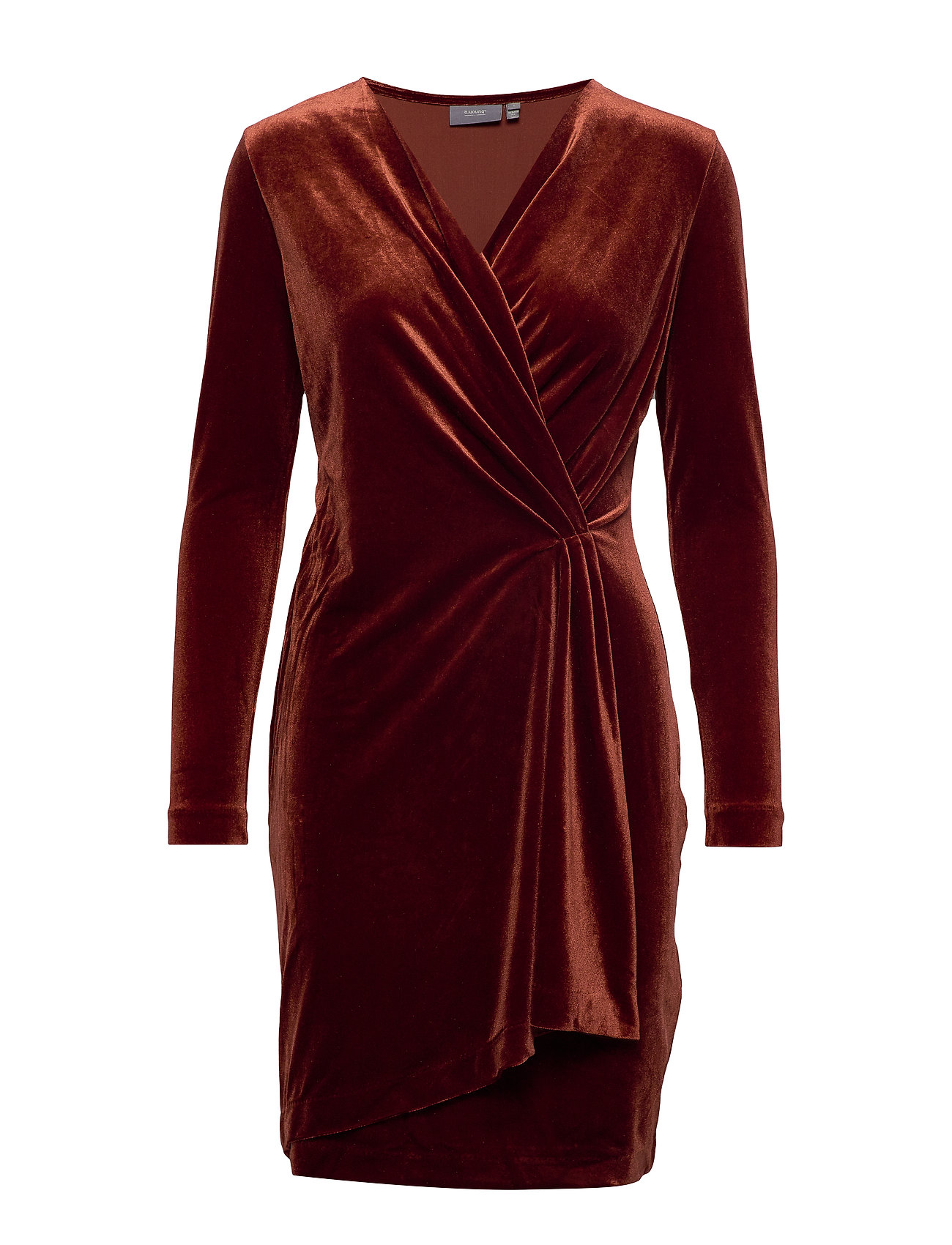 b.young BYPERLINA DRESS 2 - - DARK COPPER