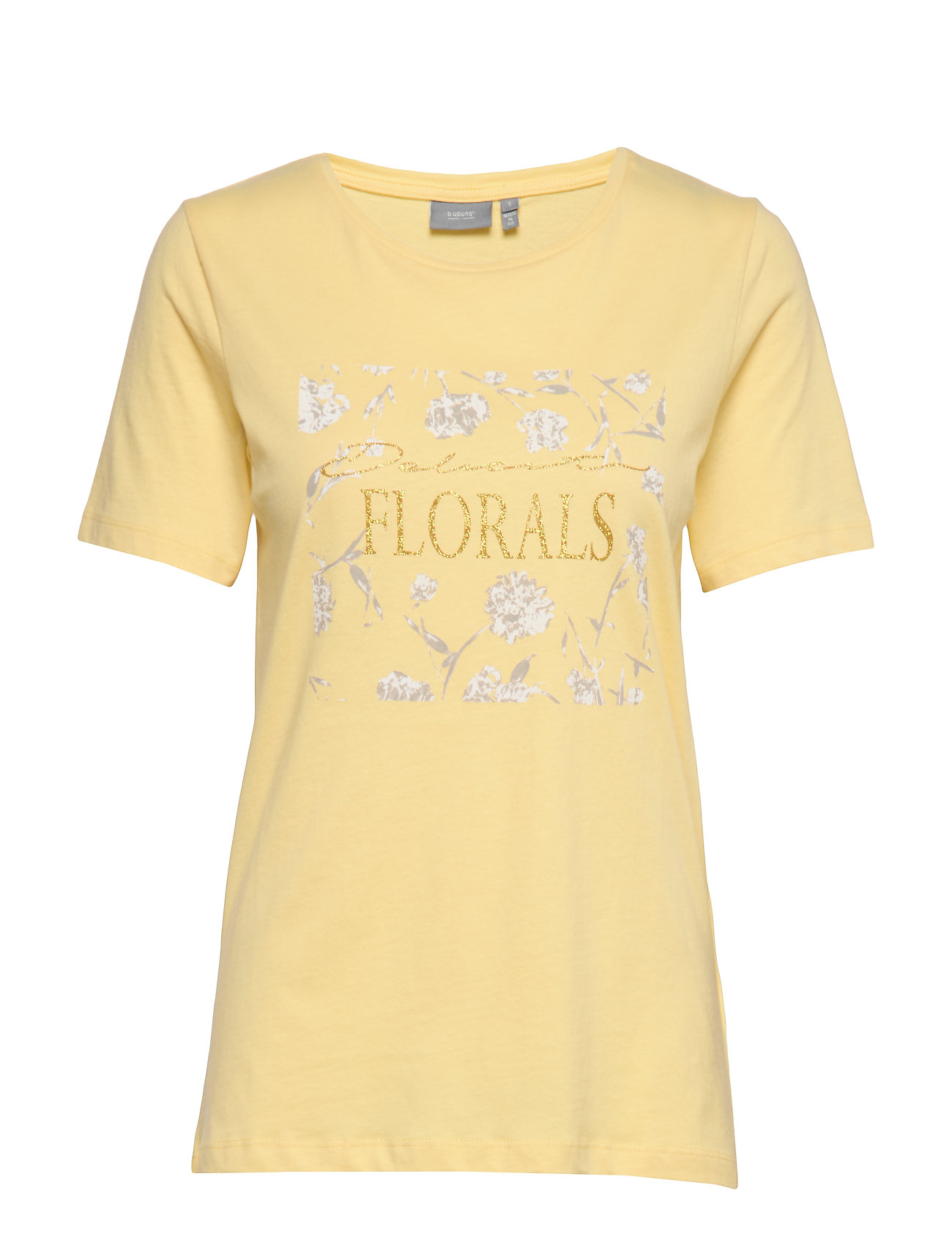 b.young BYSAMIA FLORAL TSHIRT - - SUNLIGHT COMBI 3