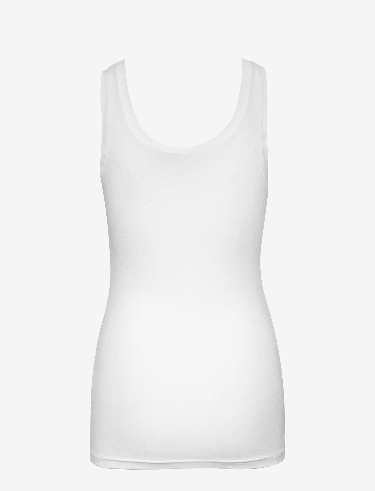 b.young - Pamila top - Jersey - linnen - optical white - 1