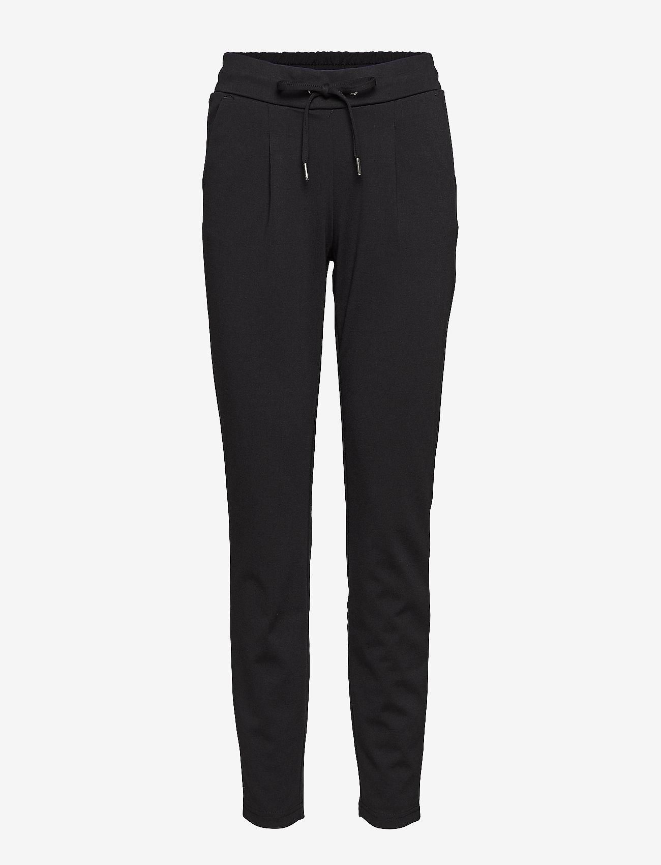 b.young - Rizetta pants 2 - Jersey - pantalons slim fit - black - 0