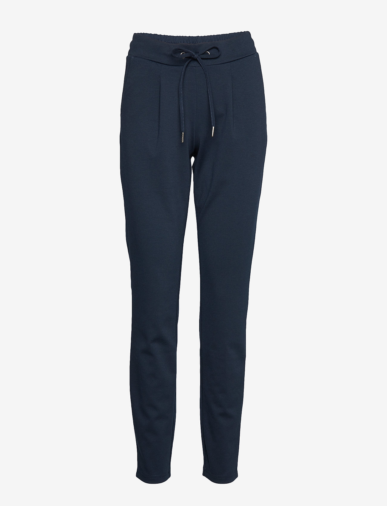 b.young - Rizetta pants 2 - Jersey - slim fit bukser - copenhagen night - 0