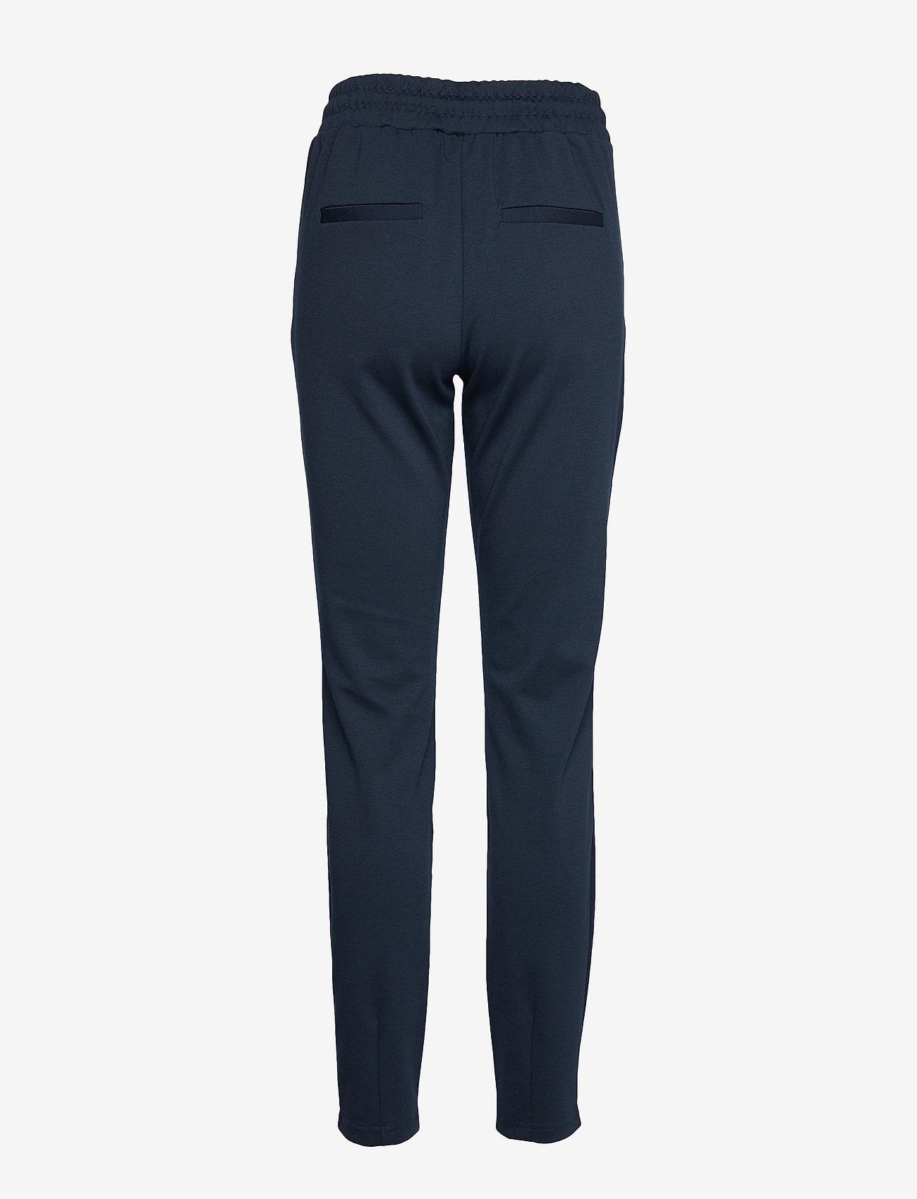 b.young - Rizetta pants 2 - Jersey - slim fit bukser - copenhagen night - 1