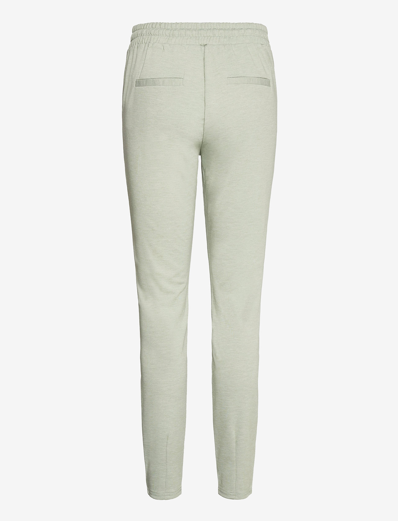 b.young - Rizetta pants 2 - Jersey - slim fit trousers - iceberg green melange - 1