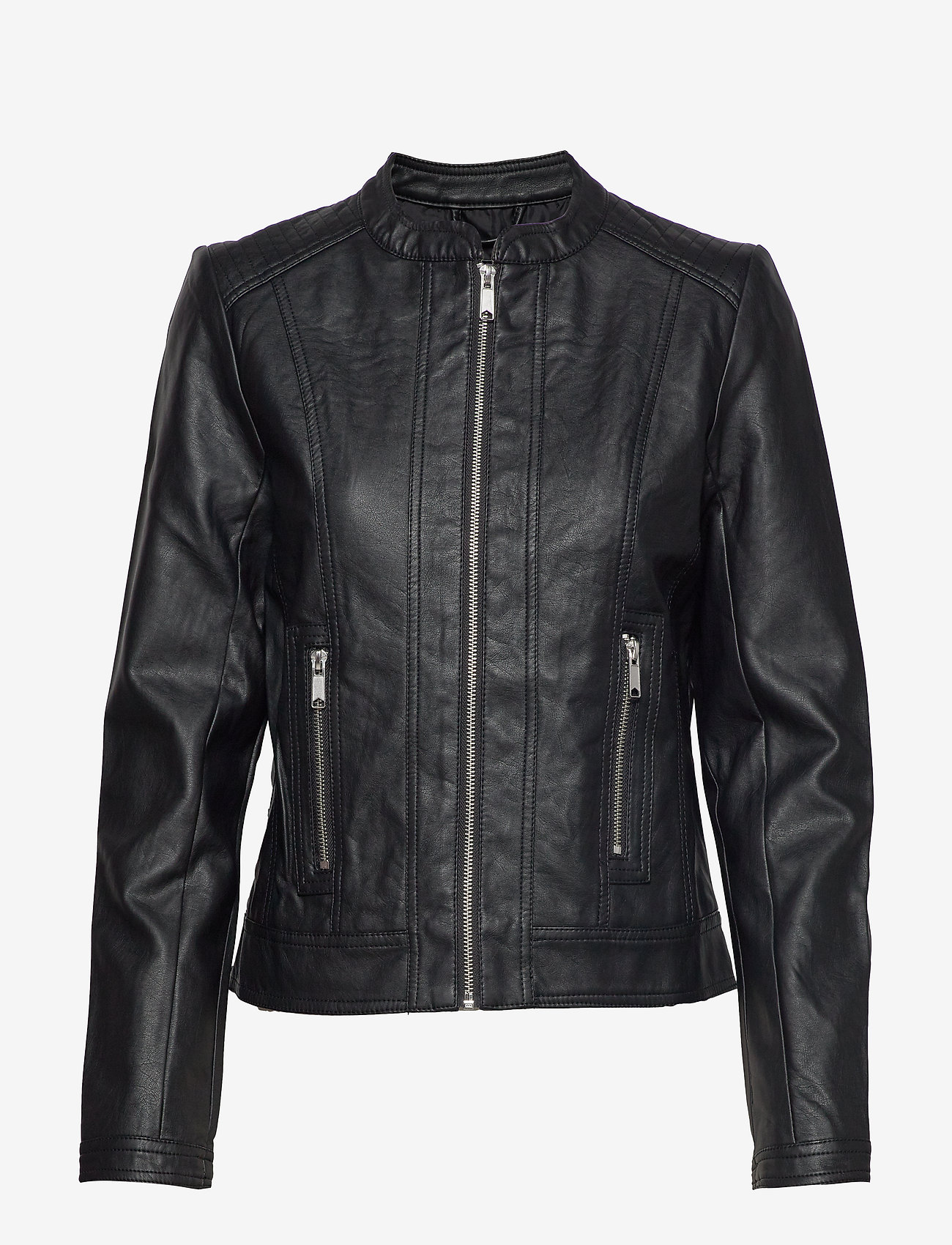 b.young - Acom jacket - - skinnjackor - black - 0