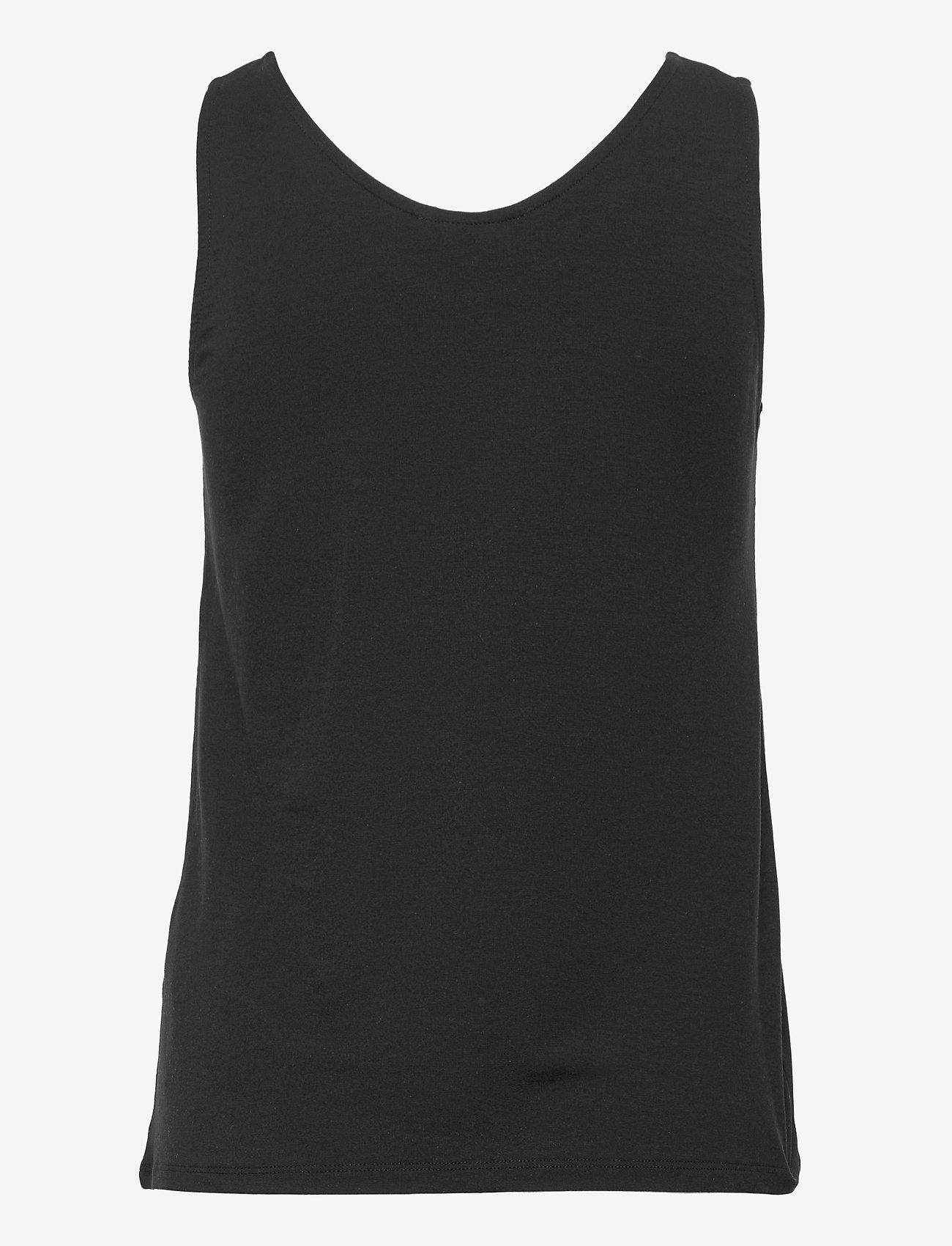 b.young - BYREXIMA TANK TOP - - t-shirt & tops - black - 1