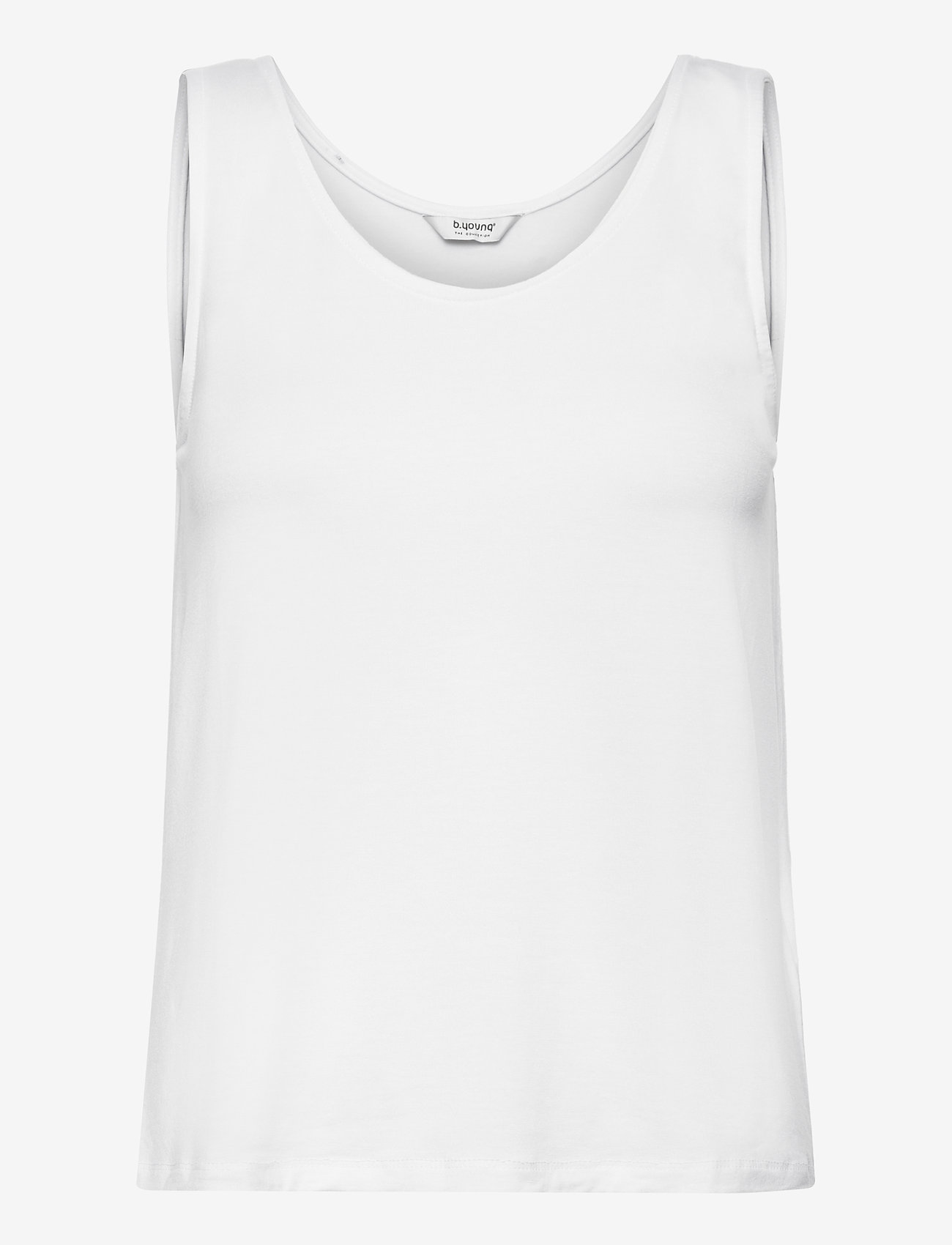 b.young - BYREXIMA TANK TOP - - linnen - optical white - 0