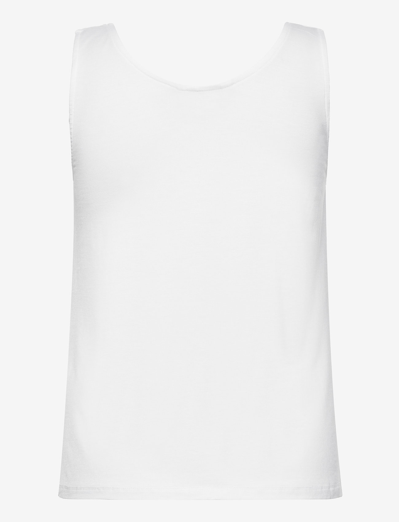b.young - BYREXIMA TANK TOP - - linnen - optical white - 1