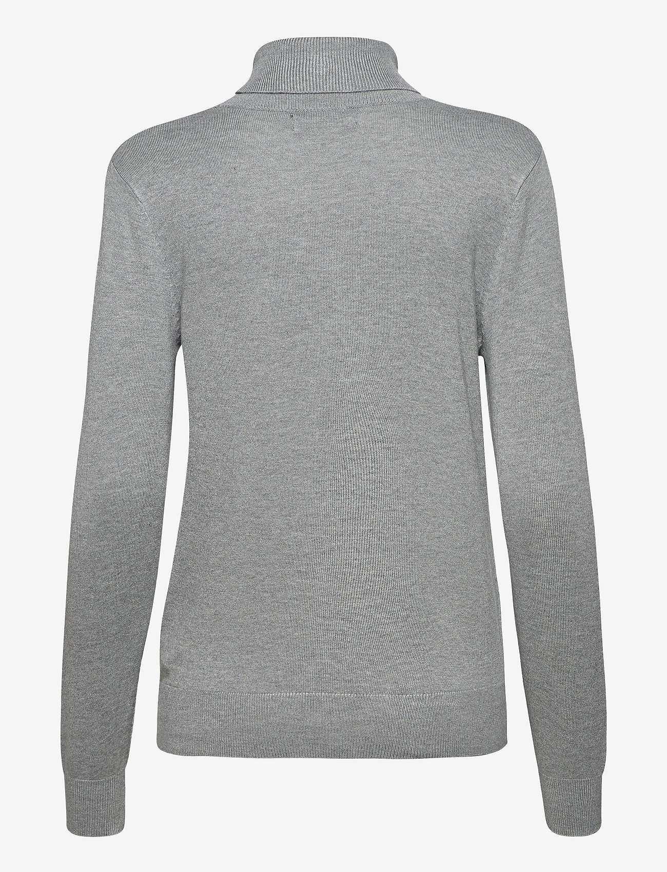 b.young - BYPIMBA ROLLNECK 3 - - turtlenecks - med. grey mel. - 1