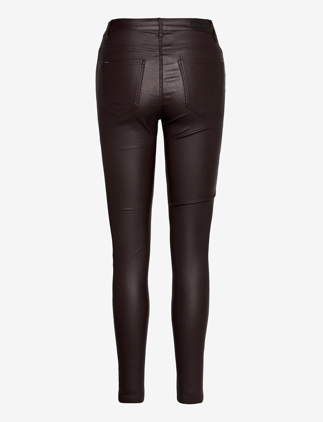 b.young - BYLOLA BYKIKO DECO ZIP - - trousers with skinny legs - chicory coffee - 1