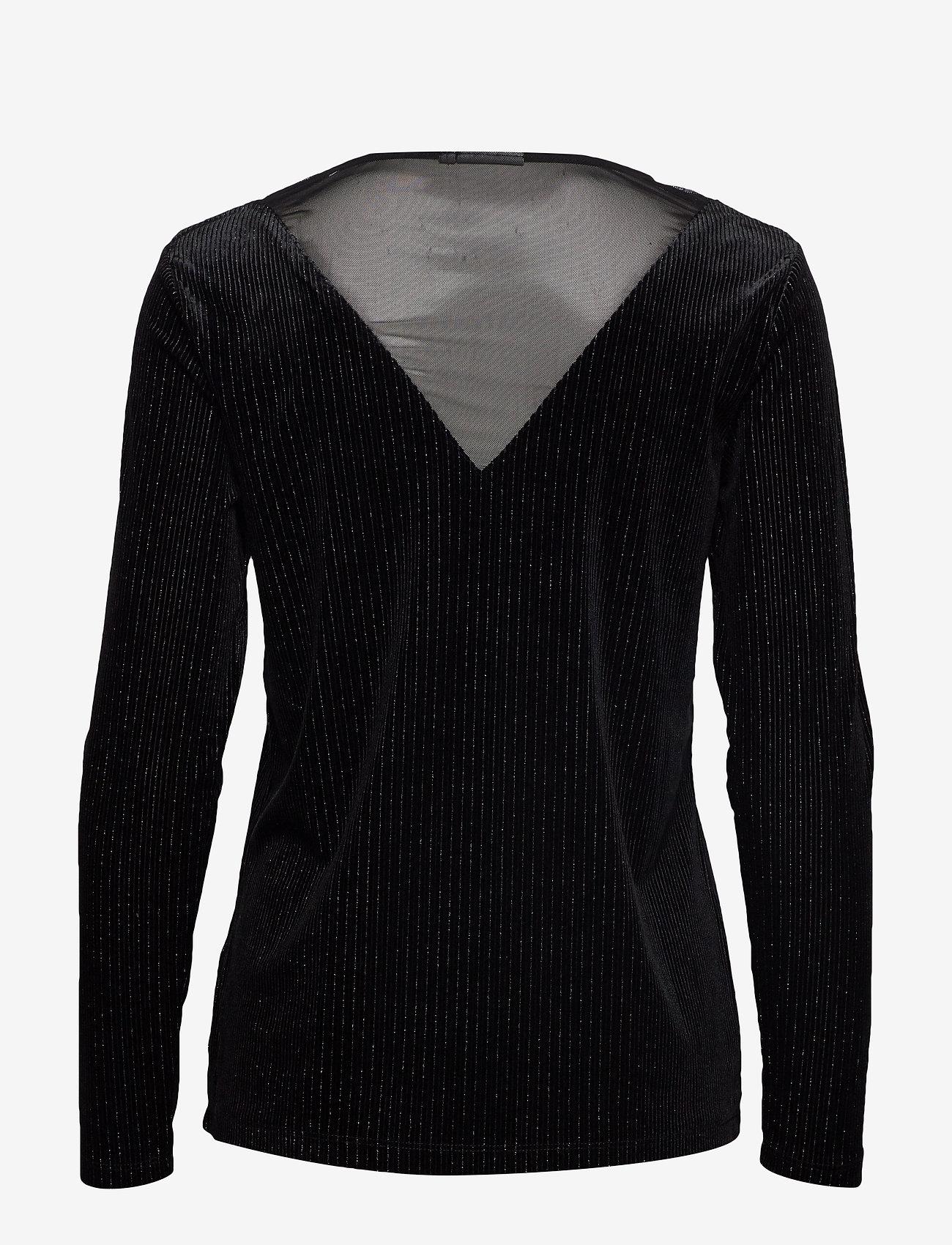 b.young BYRED PULLOVER - - Bluzki & Koszule BLACK W. SILVER - Kobiety Odzież.