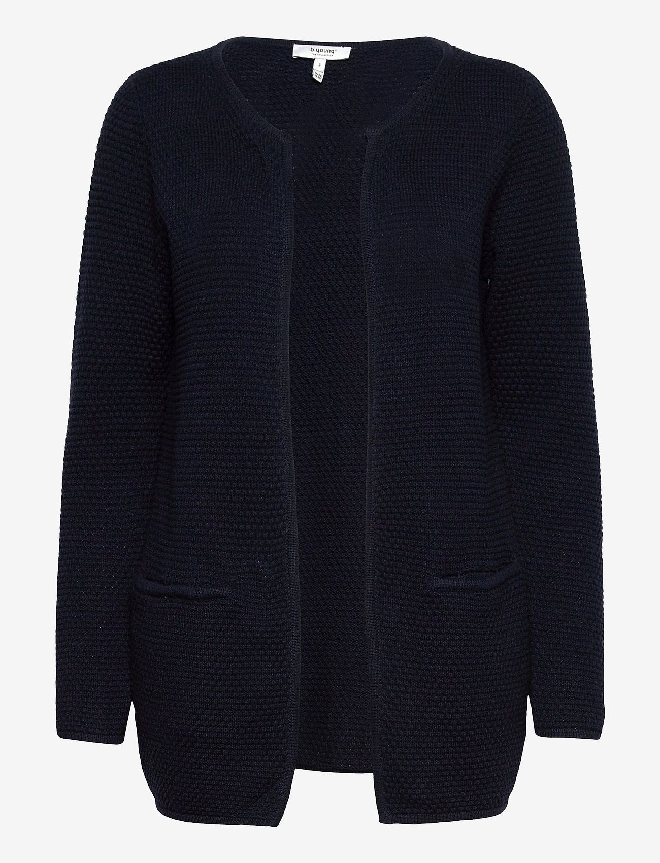b.young - BYMIKALA STRUCTURE CARDIGAN - koftor - copenhagen night - 0