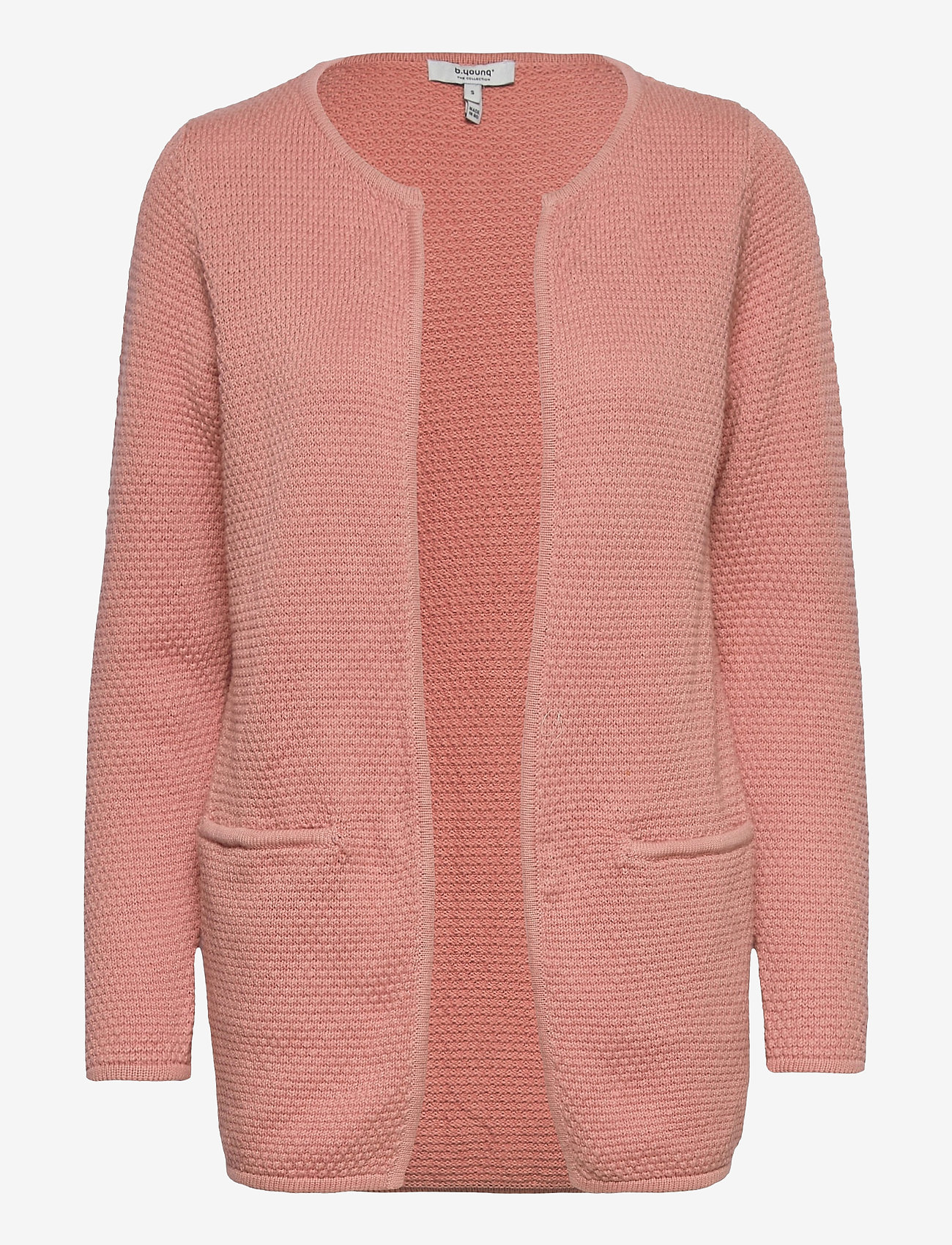 b.young - BYMIKALA STRUCTURE CARDIGAN - cardigans - rose tan - 0