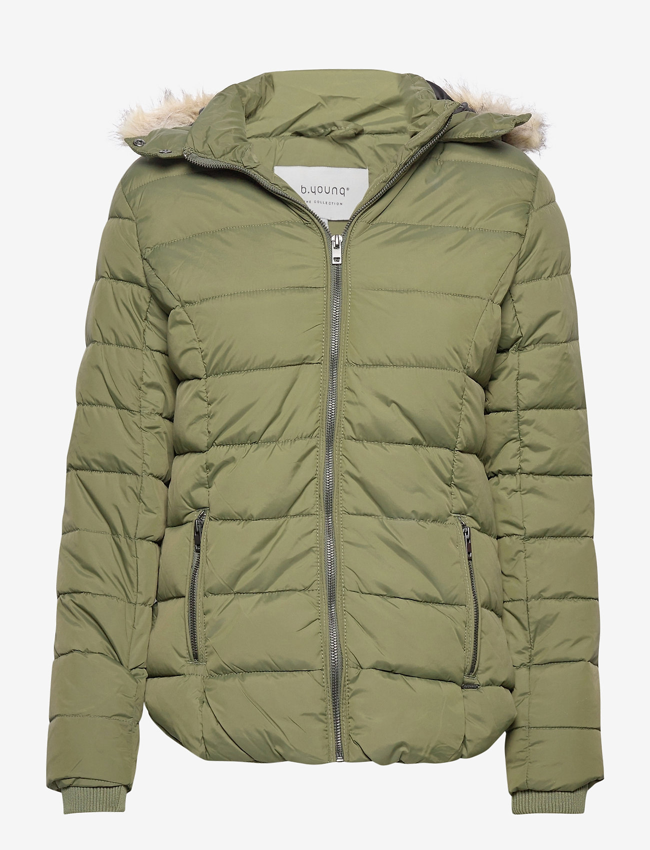 b.young - BYBOMINA JACKET 2 - - dun- & vadderade jackor - olive night - 0