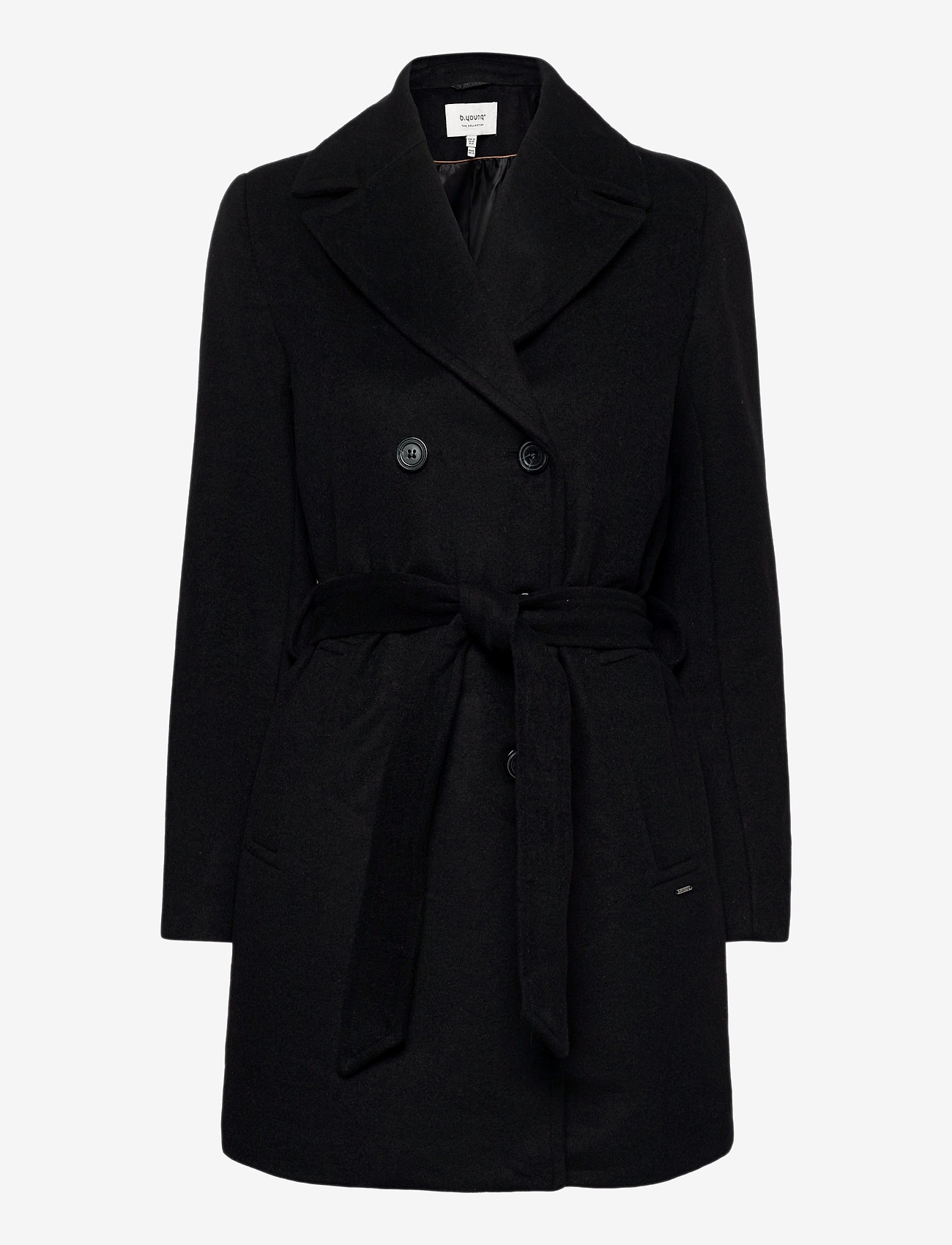 b.young - BYABIA COAT - - wool coats - black - 0