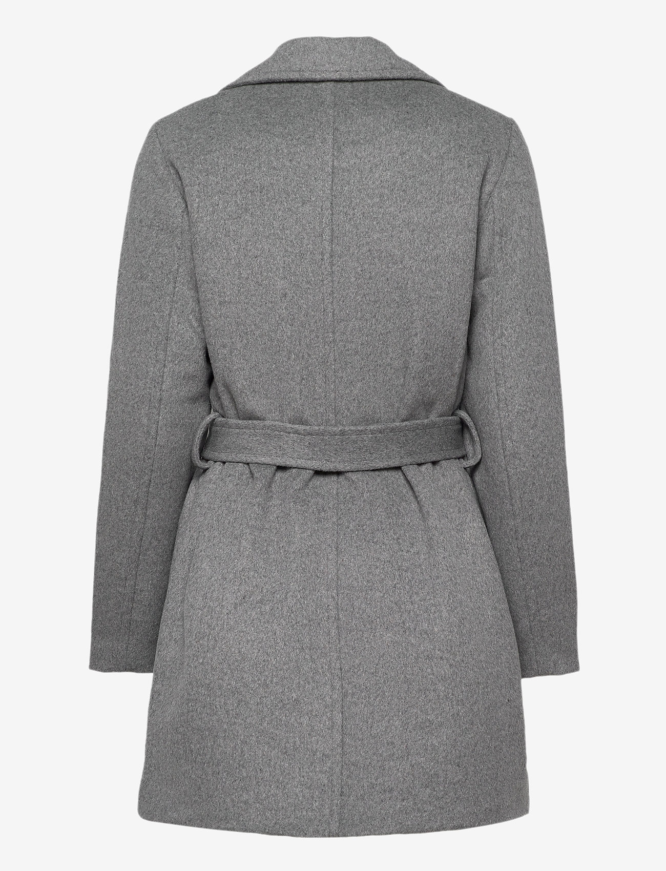b.young - BYABIA COAT - - wool coats - med. grey mel. - 1