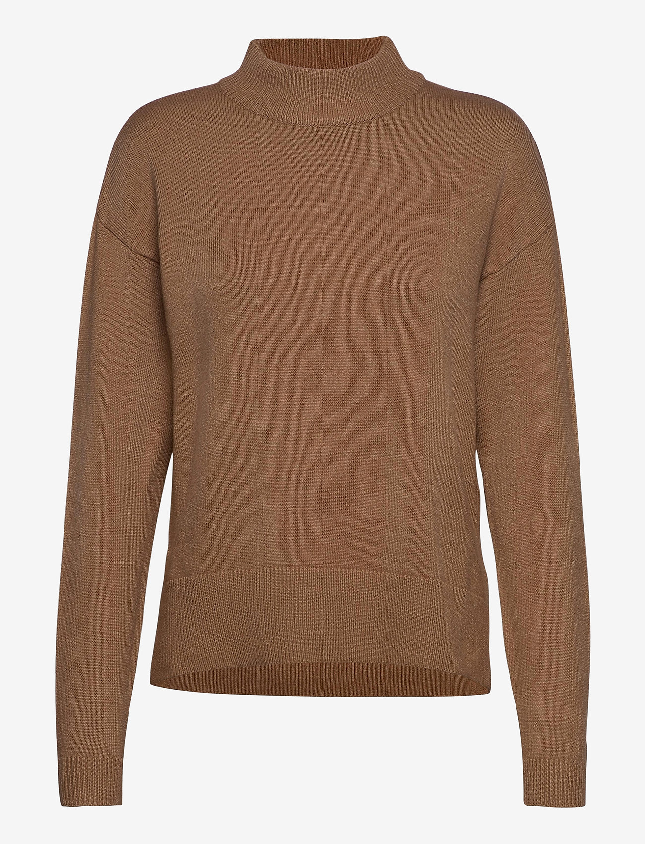 b.young - BYNONINA TURTLE - KNIT - turtlenecks - mel. golden sand - 0