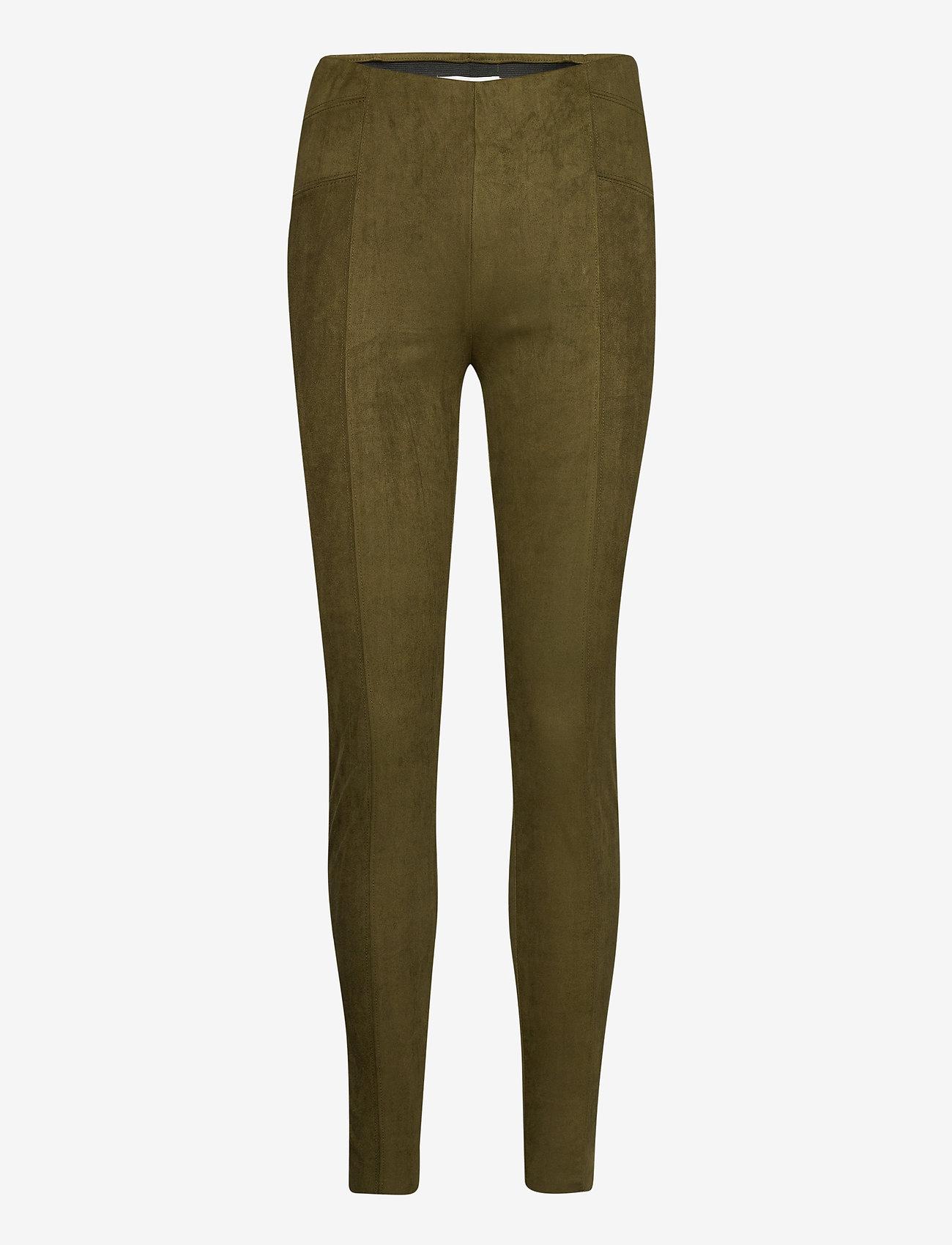 b.young - BYREGIZA LEGGINGS - - leggings - olive night - 0