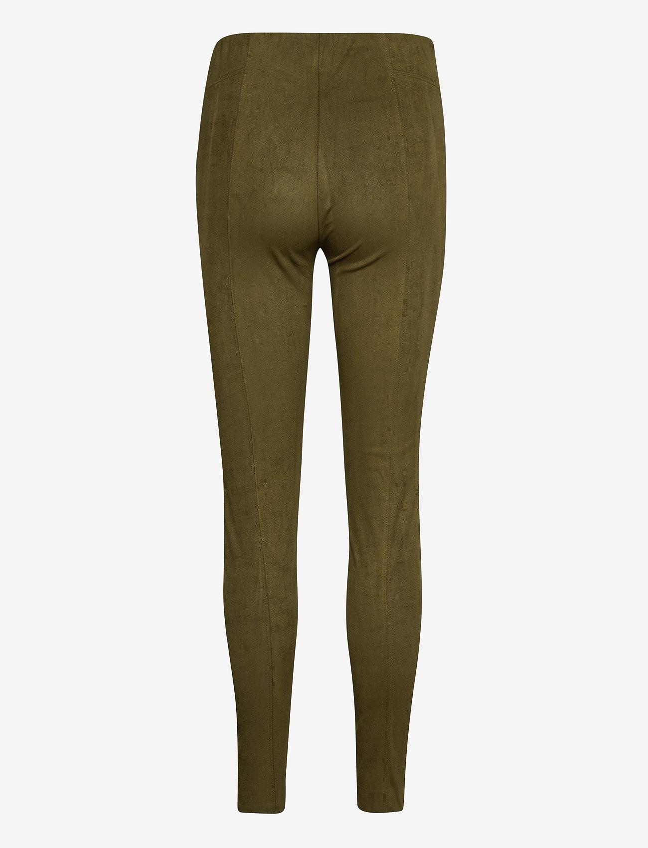 b.young - BYREGIZA LEGGINGS - - leggings - olive night - 1